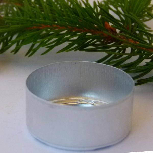 Aluschälchen für Teelicht