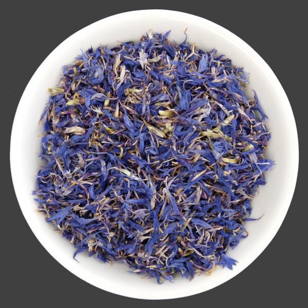 Bio blaue Kornblumenblütenblätter 4g